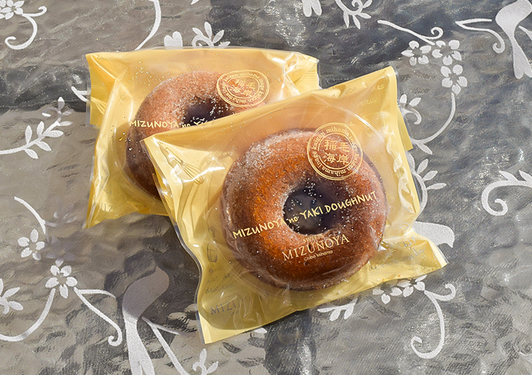 焼きドーナツ メープル