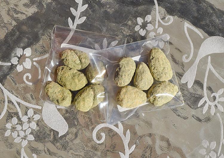 抹茶ときな粉のアマンドショコラ