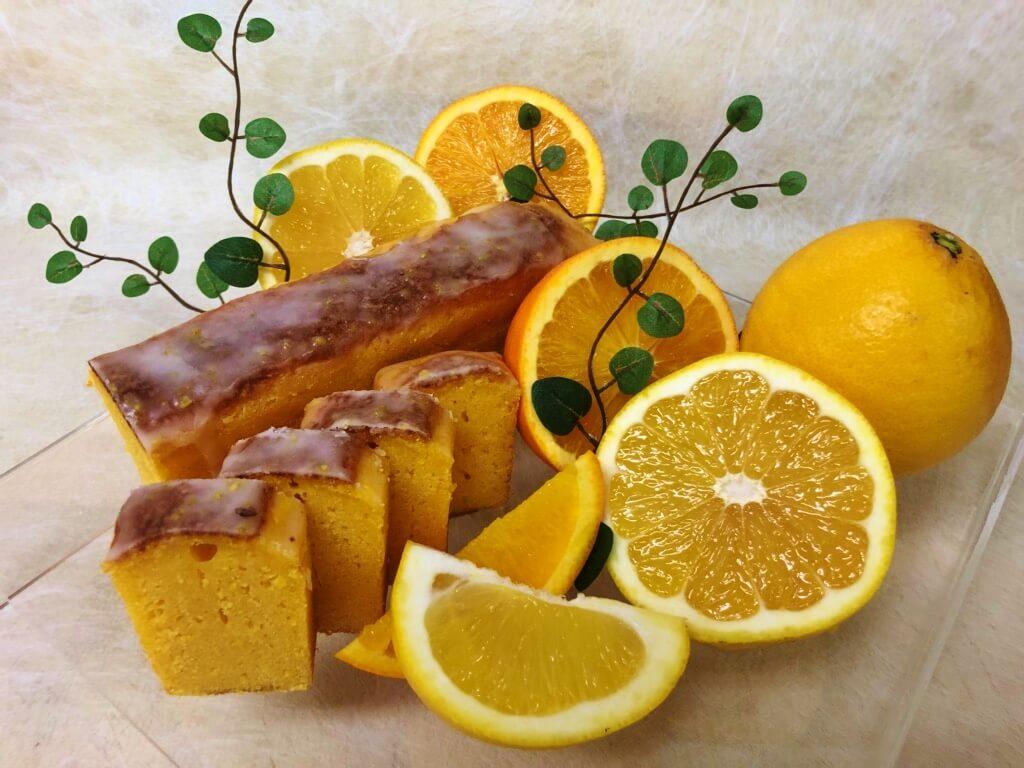 美生柑とネーブルオレンジのケーク