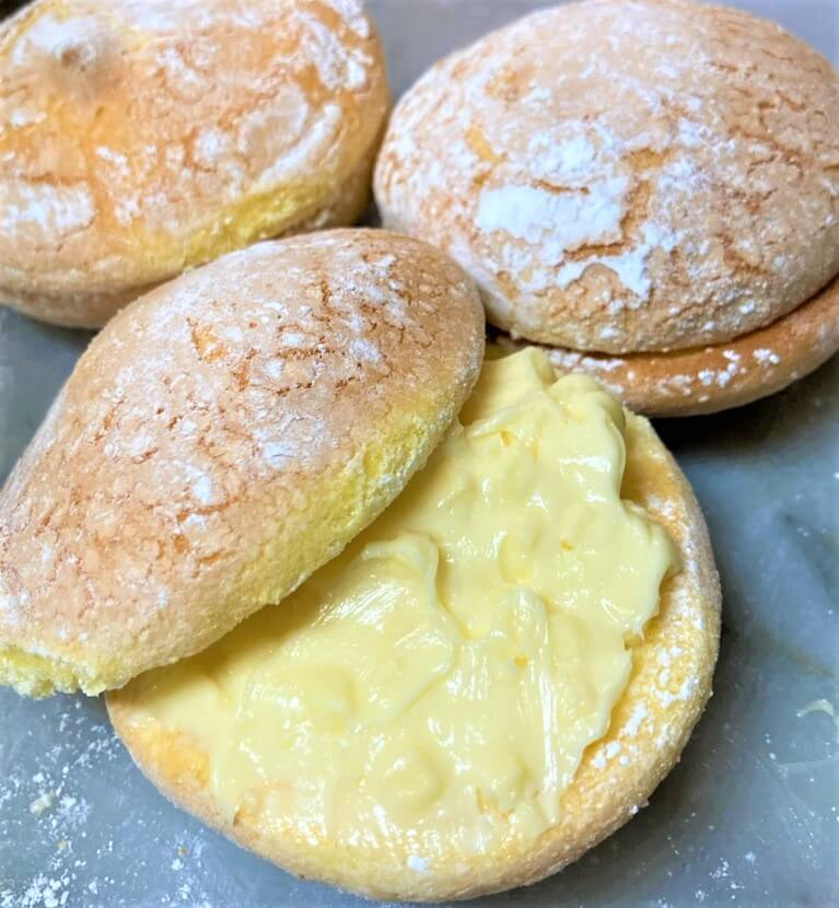 チーズの塩ブッセ